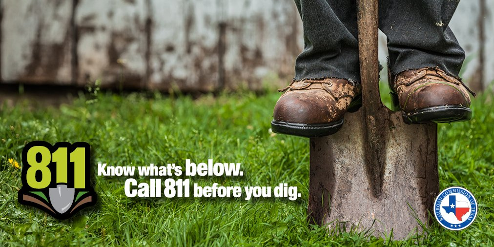 Railroad Commission Of Texas On Twitter Happy 811 Day Call811 Is A Nationwide Service For Anyone Planning To Dig So Underground Utilities Like Gas Water And Electrical Lines Can Be Marked Learn 9 project tickets ticket lengths are not addressed in the miss dig law. twitter