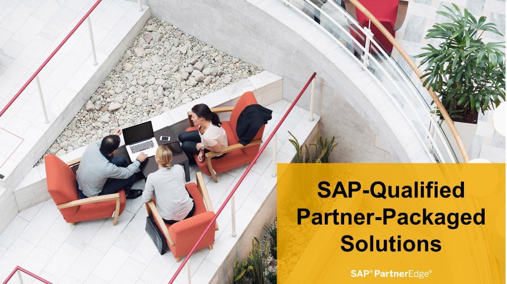 Already an SAP Partner