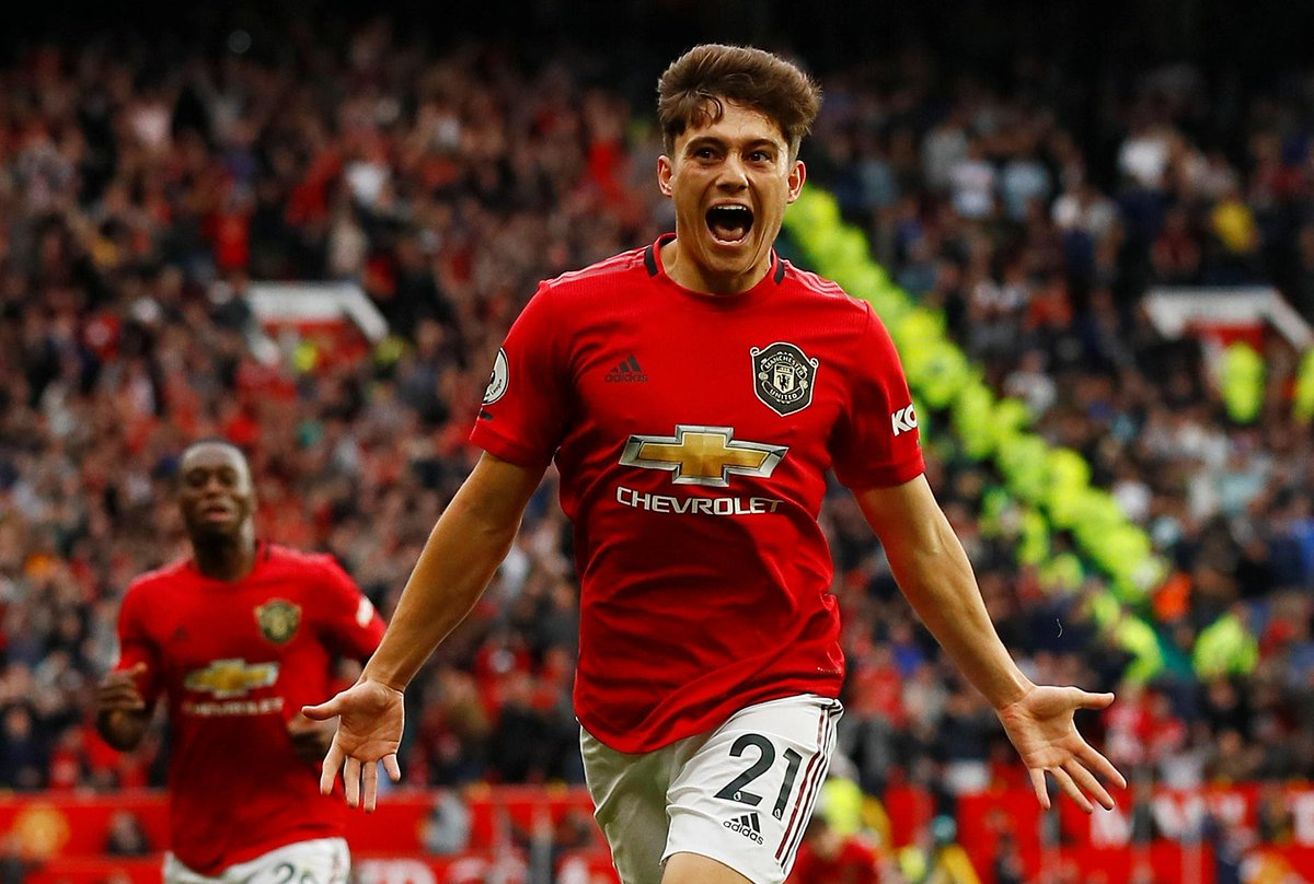 Premier League Manchester United James