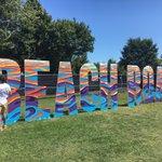 Image for the Tweet beginning: #BeachRoadWeekend spray paint by Jack