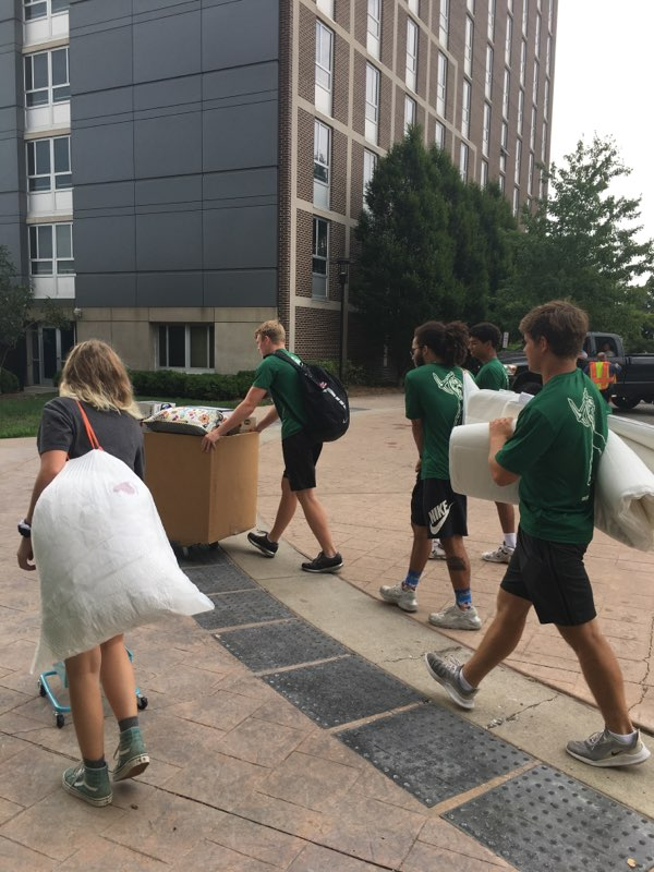 Welcome Home Miners! #MinerMoveIn #PickAxeTakeNames