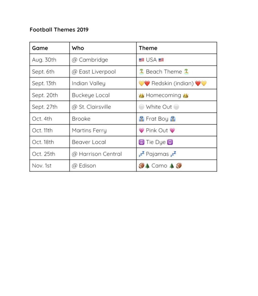 Football themes for this season!!🏈