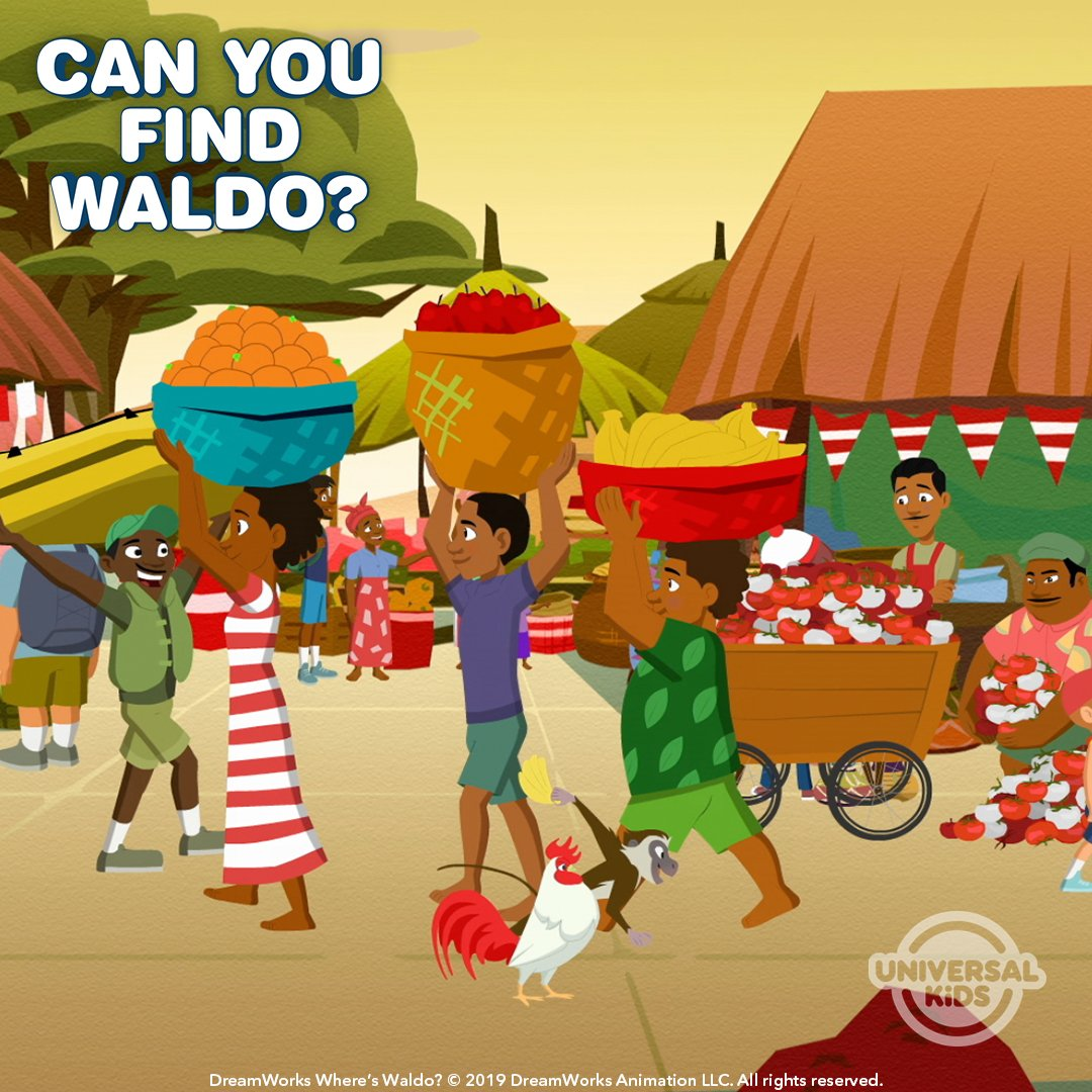 Were you able to spot Waldo during his adventure in Victoria