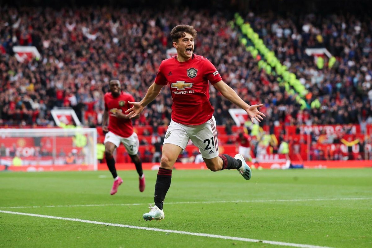 Daniel James raves about Manchester United's new signing