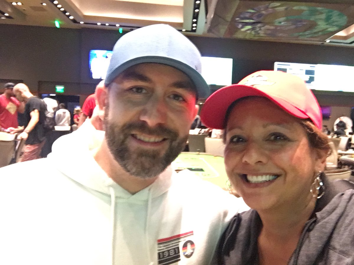 ran into @runitup buddy @GarryGates at the Arizona State Poker Championship