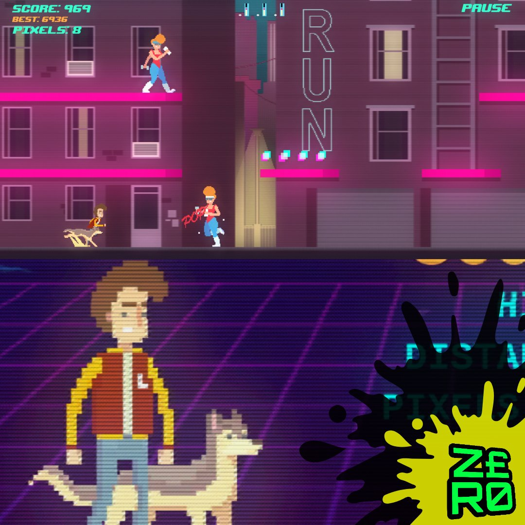 Just found this absolutely brilliant infinite runner mobile game called Top Run. The graphics, the music, all brilliant! #toprun #game #games #gaming #gamer #gamers #videogame #videogames #mobile #mobilegaming #android #androidgames #googleplay #80s #80saesthetic #synthwave