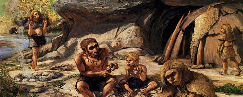 Стоянки древних людей картинки