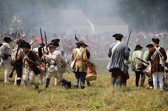 """Our militia are not regulars and for that they will break with no notice put any deserter you capture to death in hopes that shall keep them in check sir."" #revolutionarywar #reenactment #patriots #newengland #massachusetts https://t.co/pp9rJEoGjN"