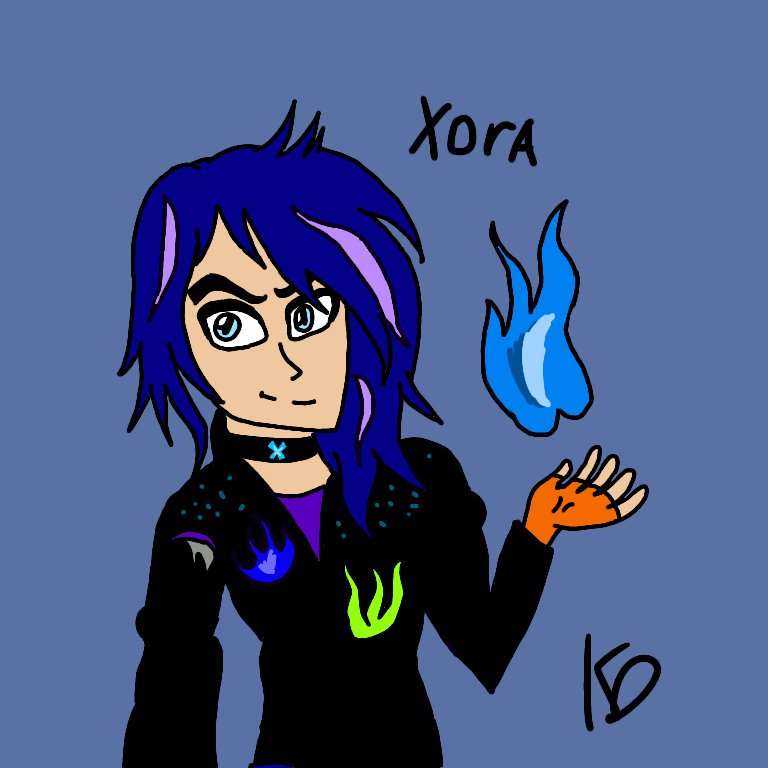 My Oc Xora Son Of Hades And Maleficent