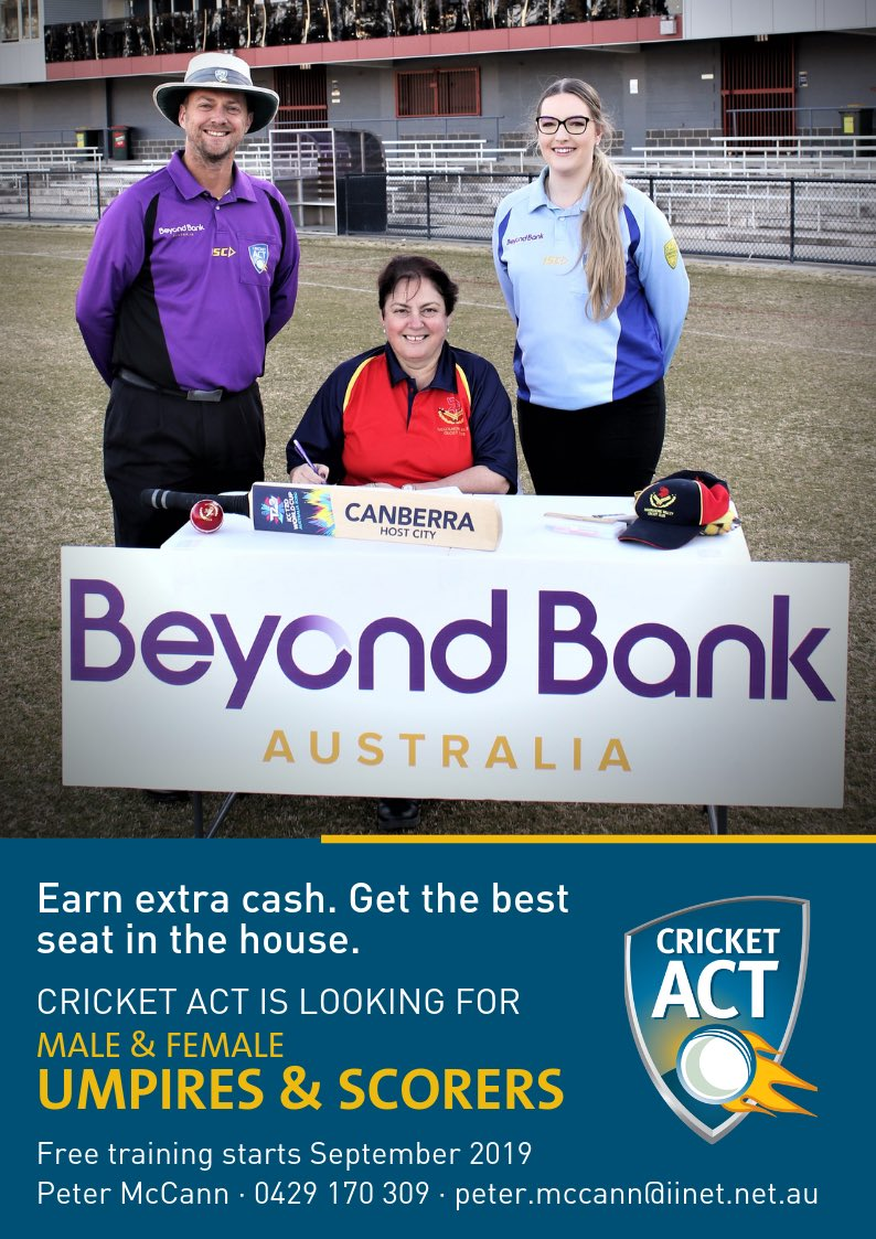 Cricket ACT (@CricketACT) | Twitter