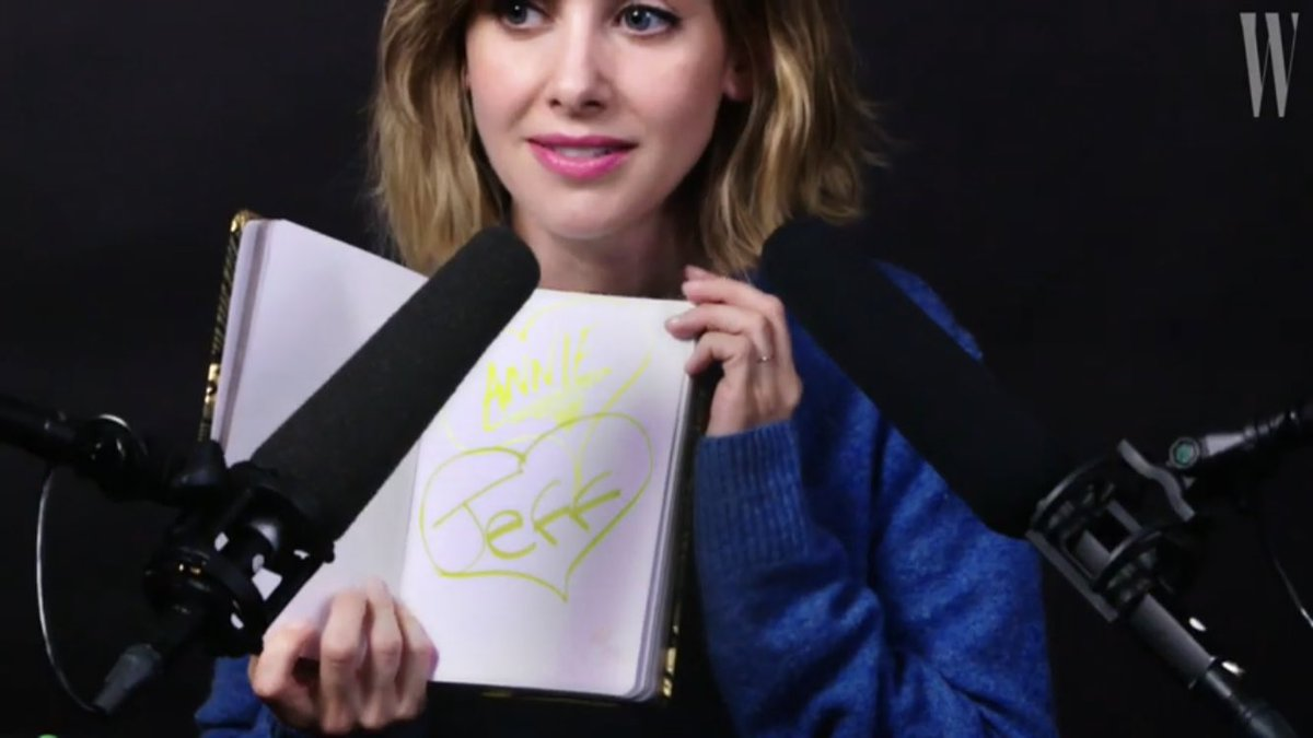 watching alison brie's asmr and she just drew jeff and annie's names in hearts.. their number one stan https://t.co/349gTajyj0