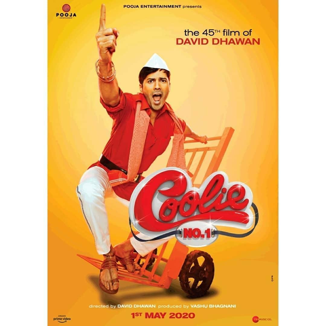 EXCLUSIVE!!! 1st Looks of #CoolieNo1 💕💕💕🔥💕 @Varun_dvn #SaraAliKhan @poojafilms @jackkybhagnani #DavidDhawan