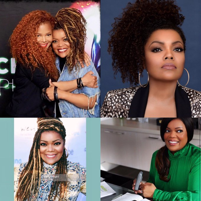 Happy birthday to the beautiful kind, sweet  Yvette Nicole Brown I hope you have a bless and beautiful day sis