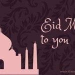 Image for the Tweet beginning: Eid Mubarak to you and