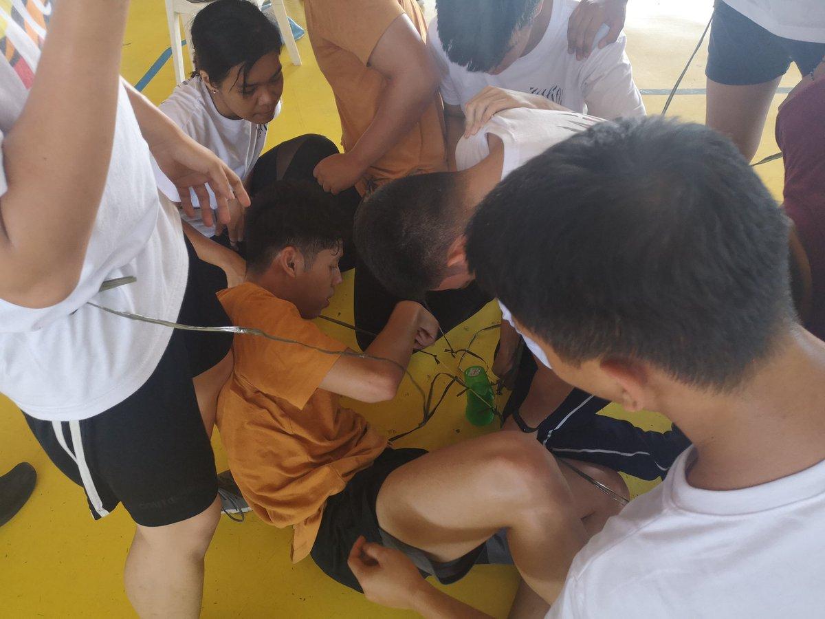 Tigers on their 4th Game of Palarong Pinoy. kambraSEA! #BeALegaSEA