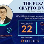 Image for the Tweet beginning: Join us on @BitoctoExchange Event