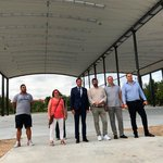 Image for the Tweet beginning: Visita institucional a las obras