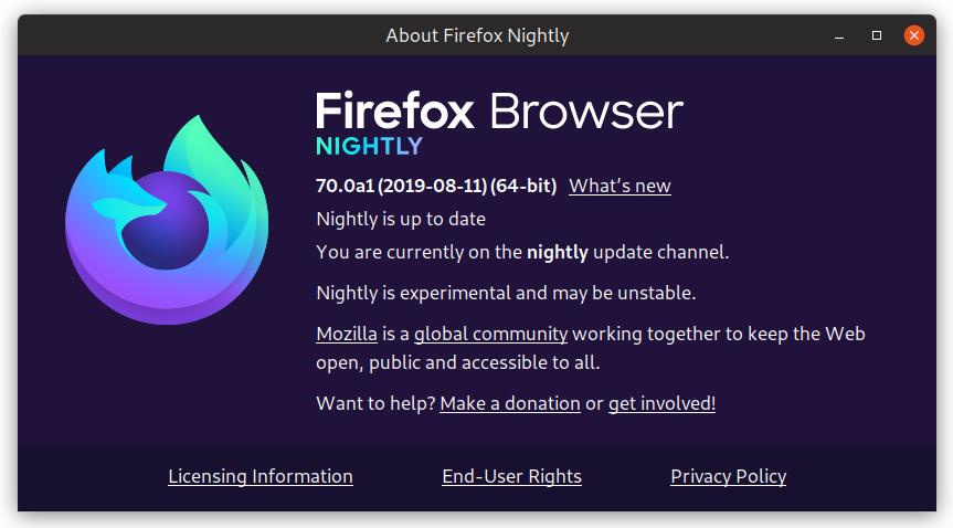 Firefox Nightly 🔥 (@FirefoxNightly) | Twitter