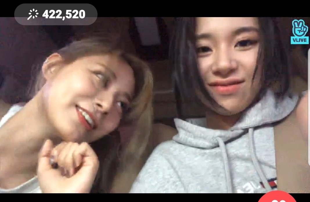 Tzuyu, quit staring at Chaeyoung like she'