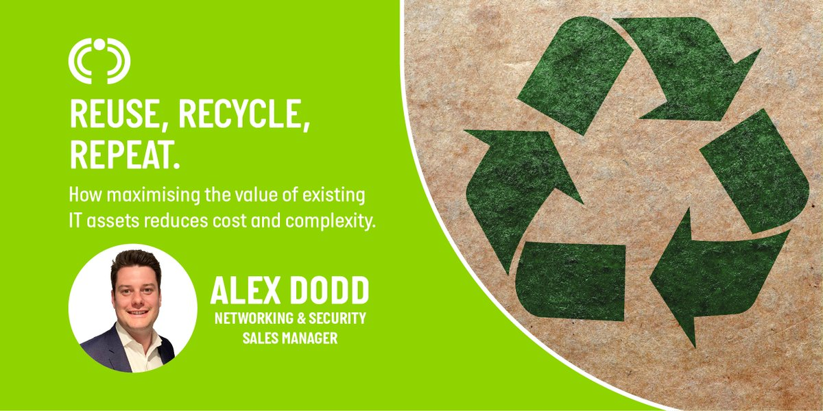 Whether it's plastic containers or software licences, we all need to find ways to make the most of the resources we already have. Take a look at Alex Dodds blog on maximising the value of existing IT assets and how it reduces cost and complexity. bit.ly/2MK3nLA