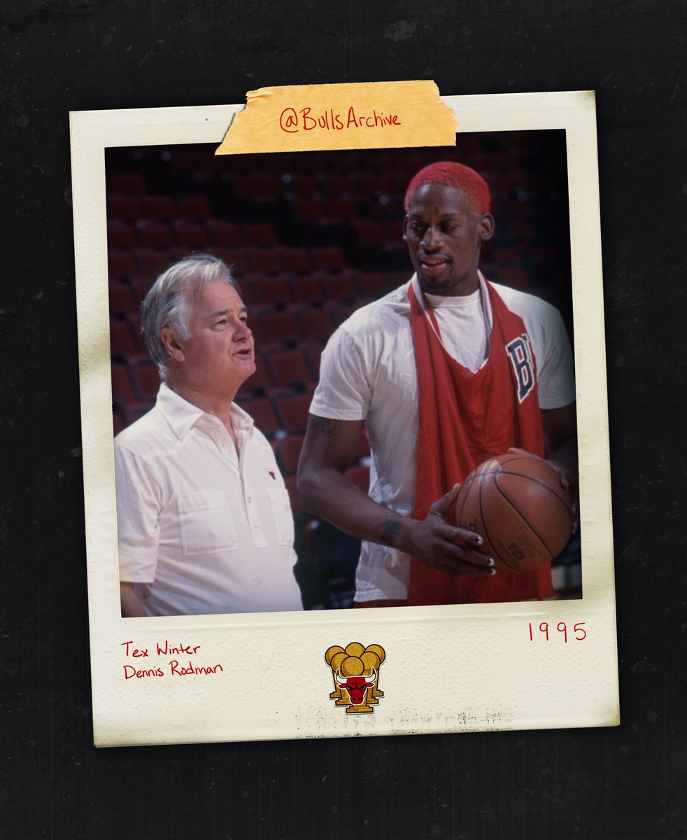Today in 2011, assistant coach Tex Winter and Dennis Rodman entered the Naismith Memorial Basketball Hall of Fame.