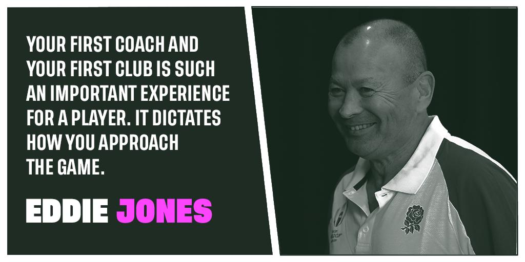 test Twitter Media - From grassroots rugby to the greatest stage of all 🌍  Eddie Jones shares his thoughts on the importance of the community game on the day he announced his @rugbyworldcup squad: https://t.co/FKuVTDQnno https://t.co/HfFBmHS3Ce