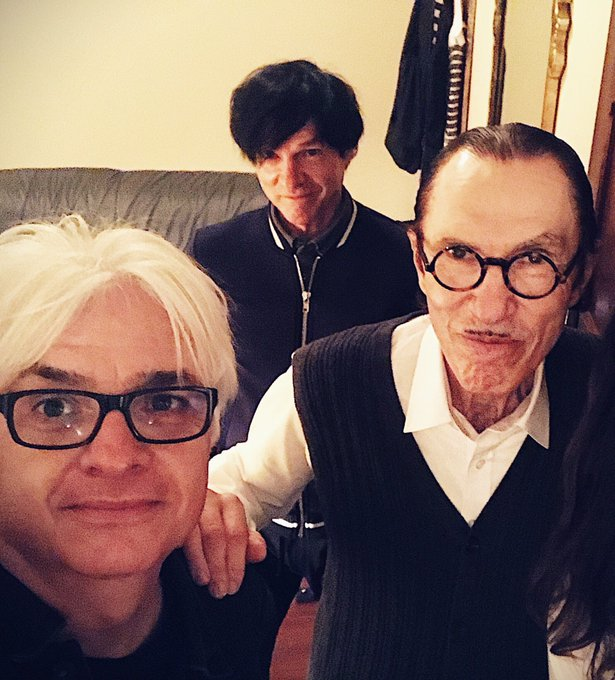 Happy Birthday to keyboard genius Ron Mael (right).