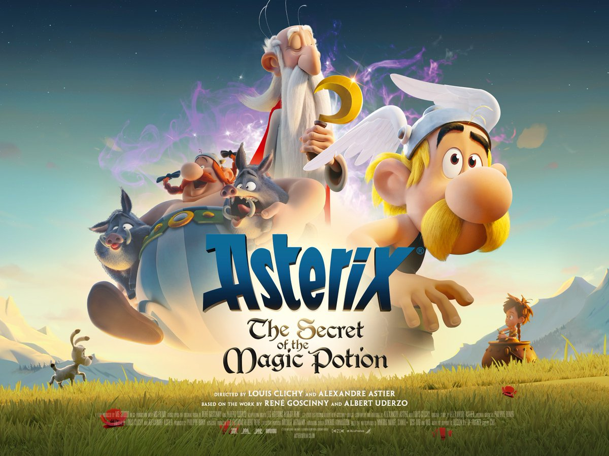 The boys are back in town! Asterix & Obelix are back on the big screen this summer in an exciting new adventure - ASTERIX: THE SECRET OF THE MAGIC POTION. 👀 Head to AsterixFilm.co.uk to watch the trailer! #AsterixFilm