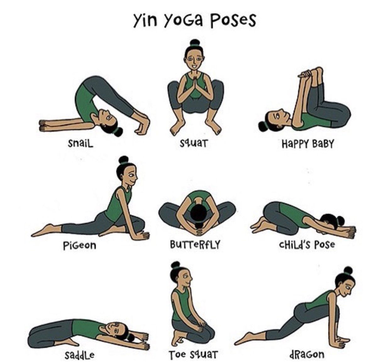 Yin Yoga Poses In Bed