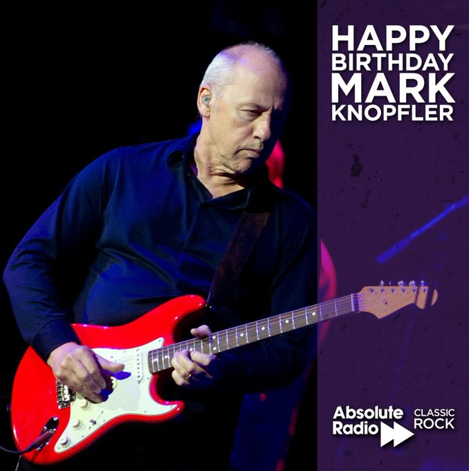 Happy birthday to Mark Knopfler! The Dire Straits guitarist, songwriter and producer, turns the big 7-0!