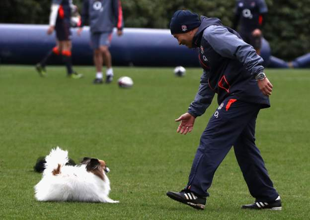 "test Twitter Media - ""I have got great assistant coaches and my dog gives me some advice so I think we are in a pretty good place.""  It's almost time for Eddie Jones to reveal England's Rugby World Cup squad.  Follow it live: https://t.co/3shMdAgEnY #bbcrugby https://t.co/5KLqSgbvyP"