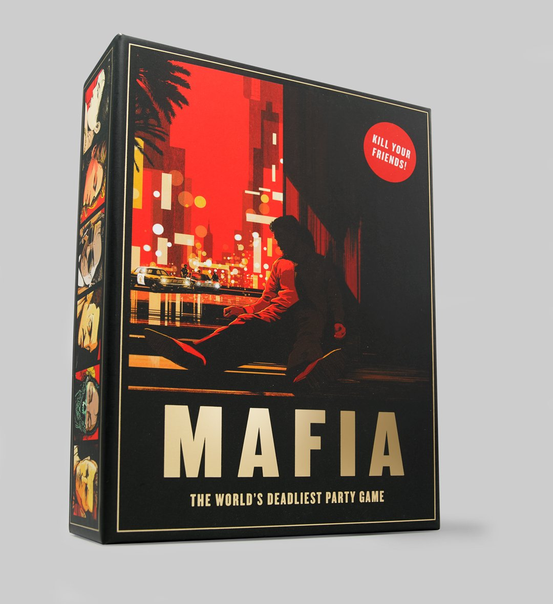 Pentagram's @angushyland has created this beautiful party game for @laurencekingpub, based on the classic role-playing strategy game 'Mafia'. Featuring illustrations by @shanjiang790, it comprises of 24 street character cards, a crime-scene notepad, and a definitive game guide.