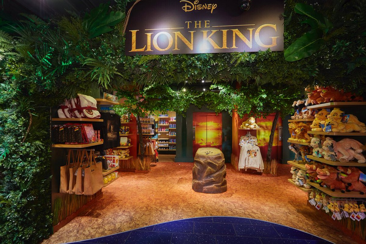 Very proud to have delivered this for #Disney alongside our sister company @propabilityuk #vm #retail #fauxfoliage