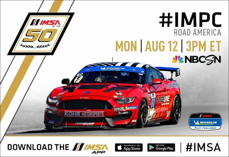 We're looking forward to watching the national broadcast of the Michelin Pilot Challenge from @roadamerica. #RaceforRP #RelapsingPolychondritis #AutoimmuneDisease #Autoimmune #imsa #impc @RPASF_Official @WestphalRacing @KyleMarcelli