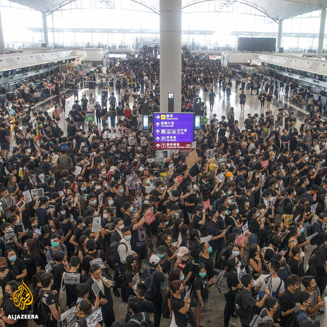 Chinesische Offizielle beginnen von Terrorismus in Hong Kong zu sprechen. Sehr beunruhigende Eskalation der Worte, von der zu befürchten ist, dass sie noch härteres Durchgreifen rechtfertigen sollen. #HongKong #HongKongProtests #Tiananmen