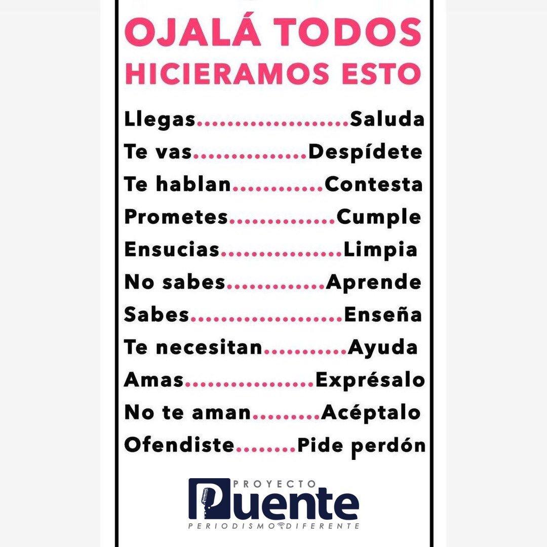 """""""Ojalá todos hiciéramos esto..."""" #BuenosDías #FelizLunes #InicioDeSemana"""