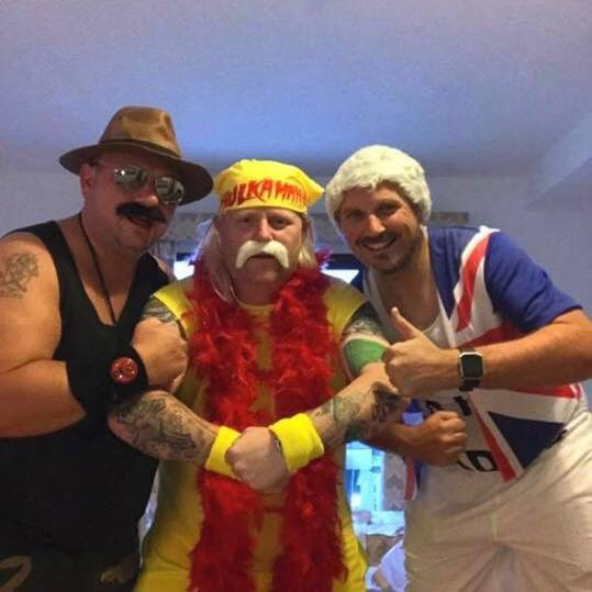 happy birthday Hollywood Hulk Hogan all the way from England brother