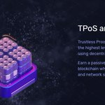 Image for the Tweet beginning: Trustless Proof of Stake (TPoS)