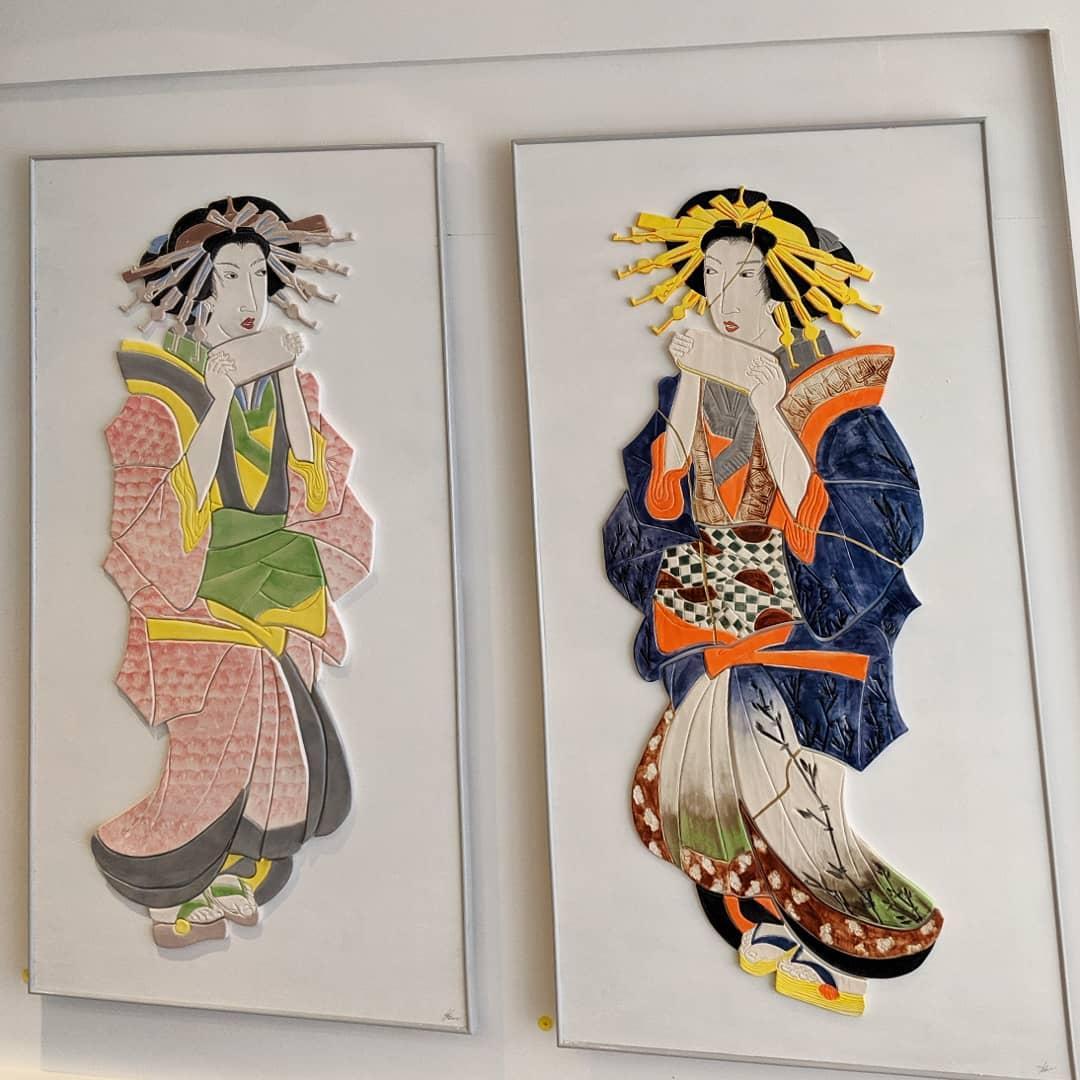 @ceramicanne stunning #ceramic #geisha @open_ealing  #ealing #japan #japanese #W5 #openealing #gallery #ealingbroadway https://www.instagram.com/p/B1EK7NVHDFu/?igshid=1pqwe6ry7vxfu…