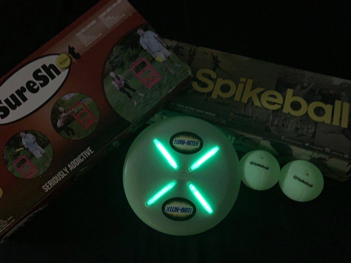 Flite by Nite Lumi-Niter Disc kit Green Xtraordin Air Toys
