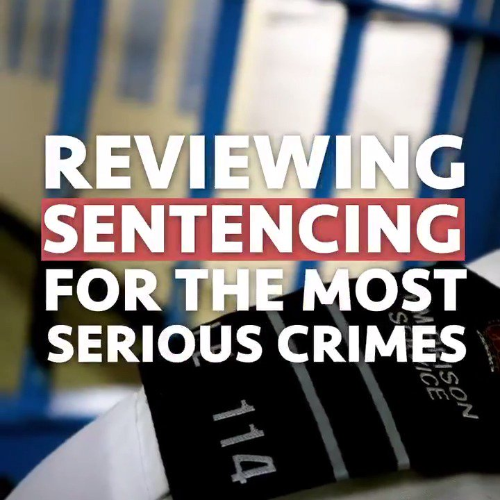 We need to keep dangerous criminals off our streets, serving the sentences they deserve. – PM @BorisJohnson ➡️ gov.uk/government/new…