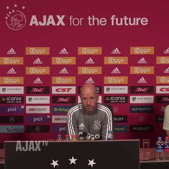 RT @AFCAjax: 🗣 - EtH - 'Ik verwacht dat Mazraoui morgen kan spelen.'  #UCL #ajapao https://t.co/UICojomlxp