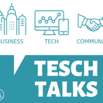"Image for the Tweet beginning: Coming soon! ""TESCH TALKS,"" a"