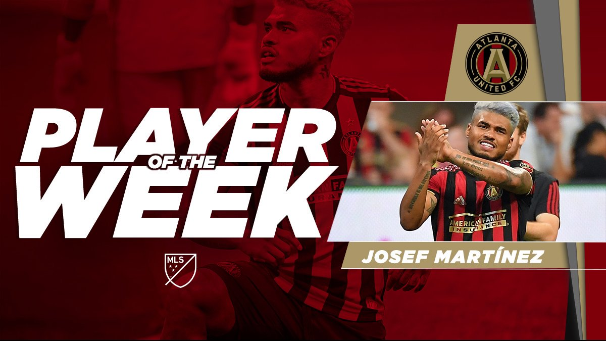 Two goals and another MLS record to his crown. 👑  @JosefMartinez17 is the Player of the Week!