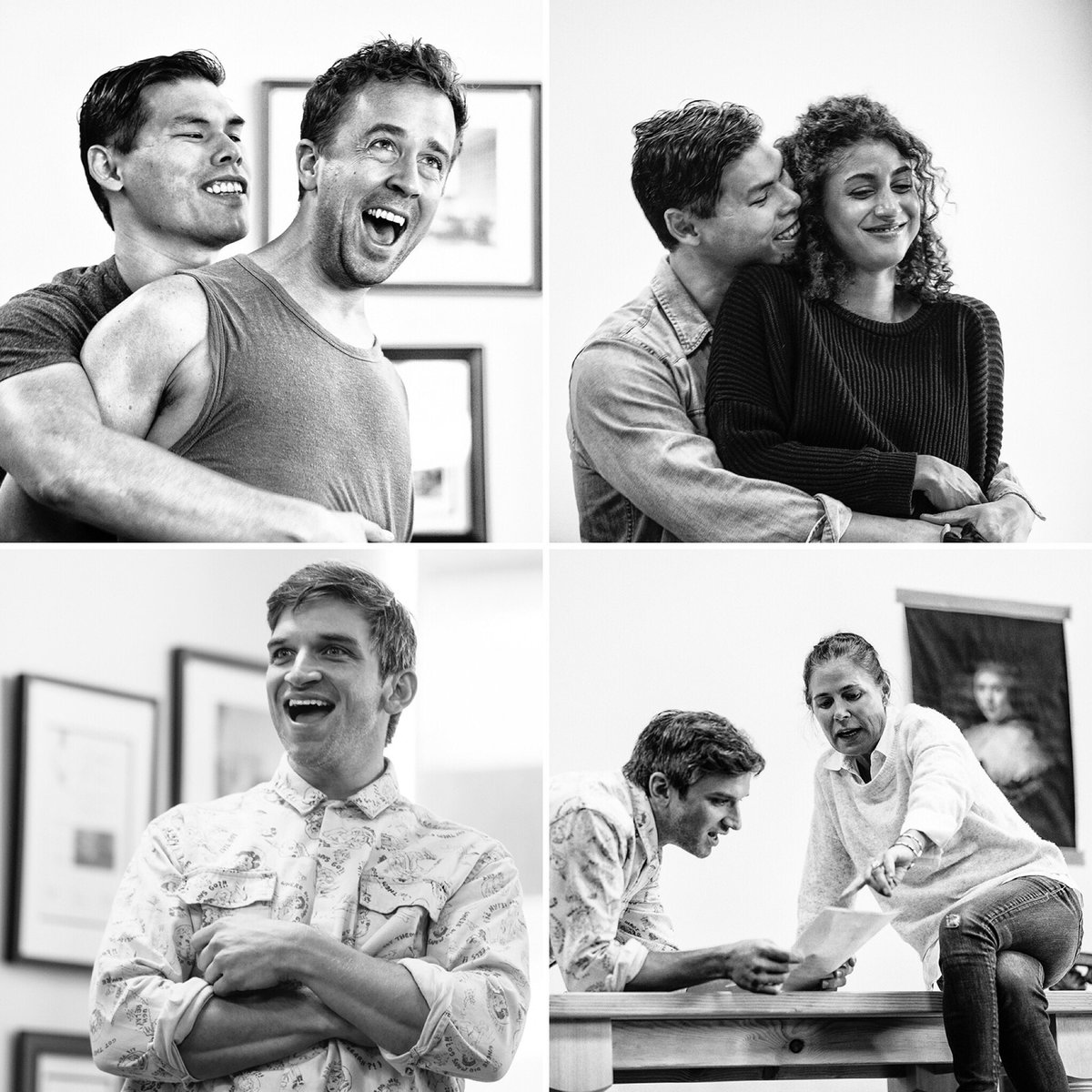 Take a peek inside the rehearsal room for Witch by Jen Silverman. Directed by Marti Lyons, first preview is August 20. You're seeing this one, right? 😈 (📸: Jeff Lorch) #WitchGP #Rehearsal #LAThtr