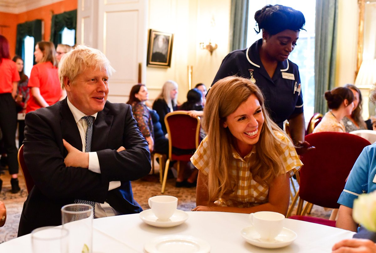 @BorisJohnson The Prime Minister was joined by six hospices, where he shared with them how grateful he was for the difficult but vital and caring work they do.