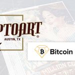 Image for the Tweet beginning: Cryptoart's online store will now