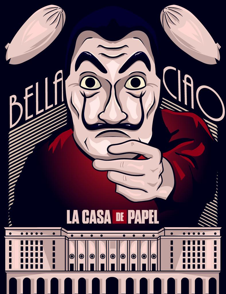 La Casa de Papel (Money Heist) alternative poster uploaded