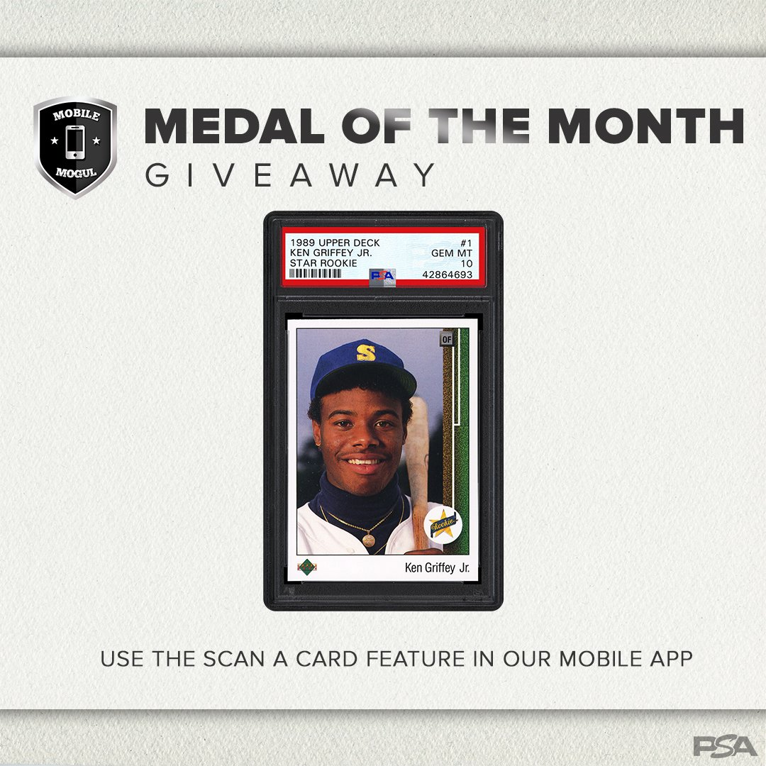 Psacard On Twitter Giveaway Want A Chance At Ken Griffey Jrs