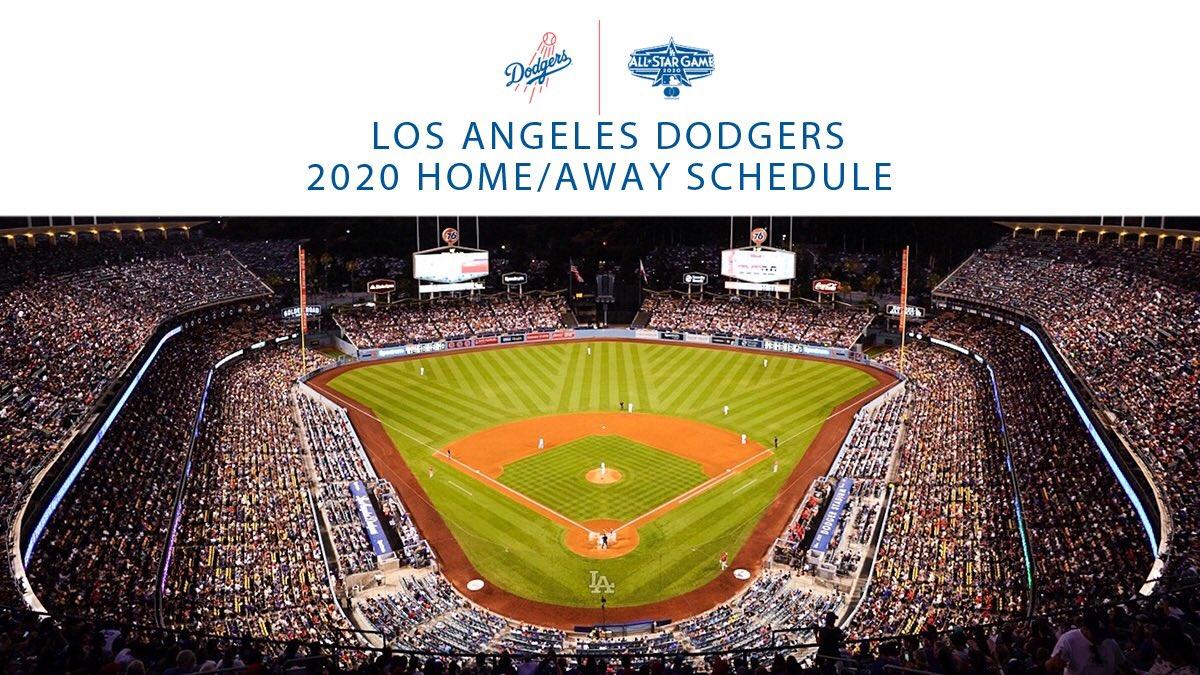 Dodgers Calendar.Los Angeles Dodgers On Twitter Mark Your Calendar The 2020 Season